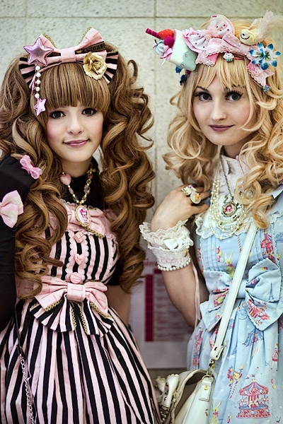 A couple of cosplayers at HyperJapan