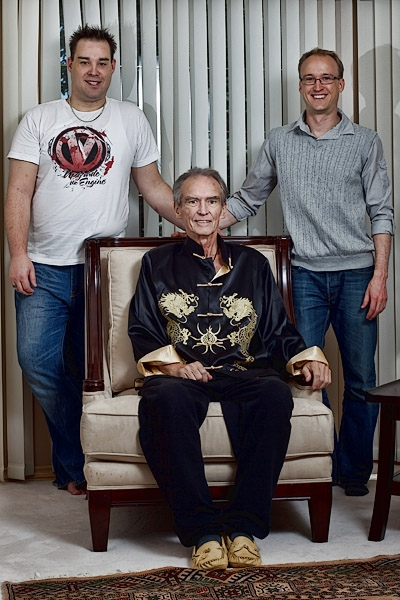 My brother Ian, my dad and I.  They were kind enough to pose for some family portraits this week.