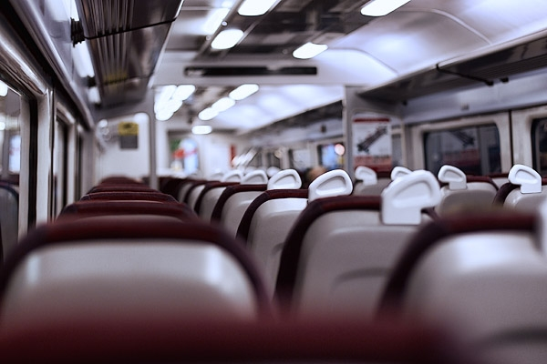 A quiet Gatwick Express ride home