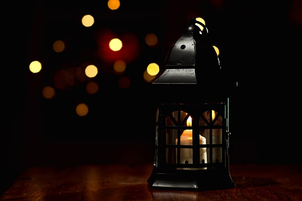 A lantern I bought as a prop for an upcoming photo shoot