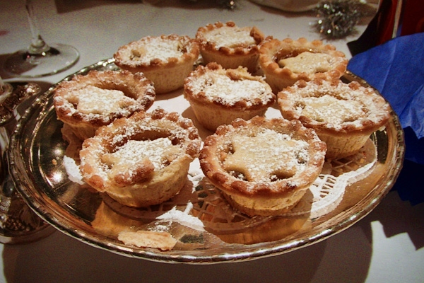 The mince pies at our annual staff party.