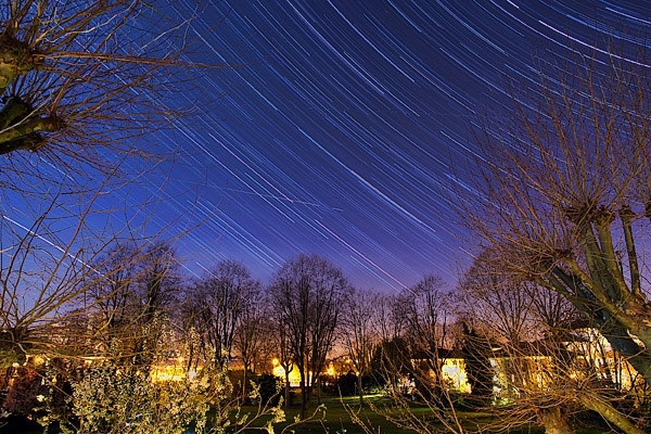 I've never seen so many stars in the London sky, I had to shoot some star trails.